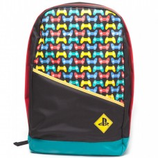 Рюкзак PlayStation Backpack with Colored Controllers Print (Difuzed), BP111201SNY, Разное